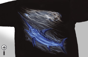 Midnight Angler Swordfish T-Shirt